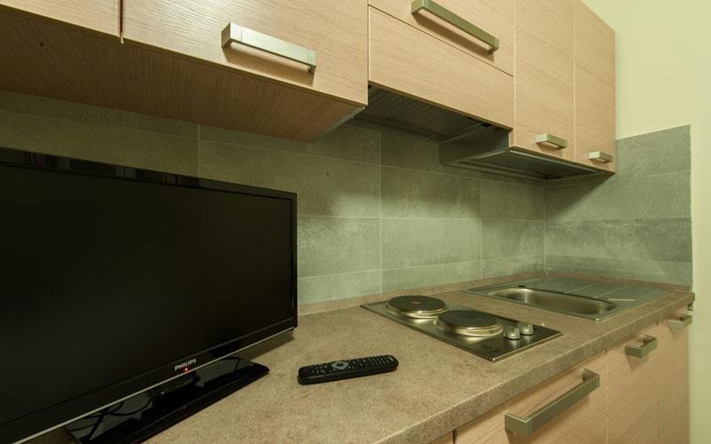 Al cune camere sono dotate di cucina