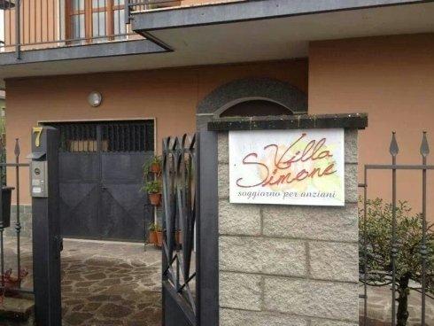 insegna Villa Simone
