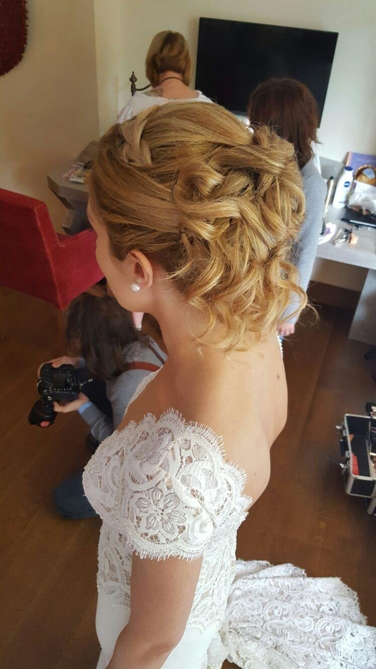 Acconciature sposa in salone