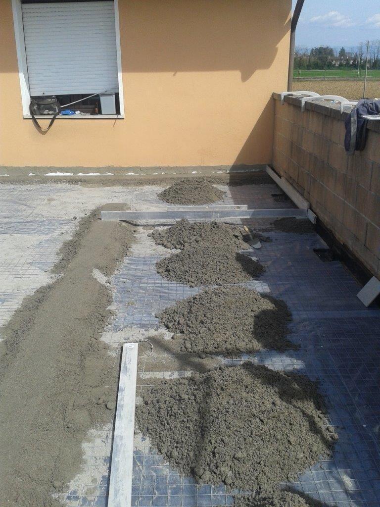 rifacimento impermeabilizzazione terrazzo