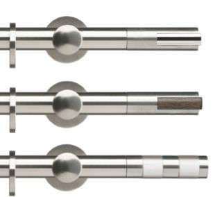 bastoni per tende acciaio