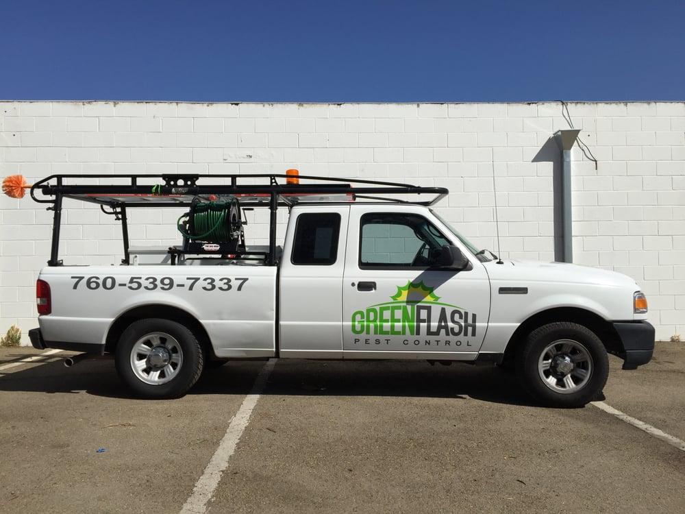 green flash truck