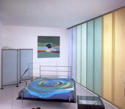 Tenda da interno con pannelli scorrevoli