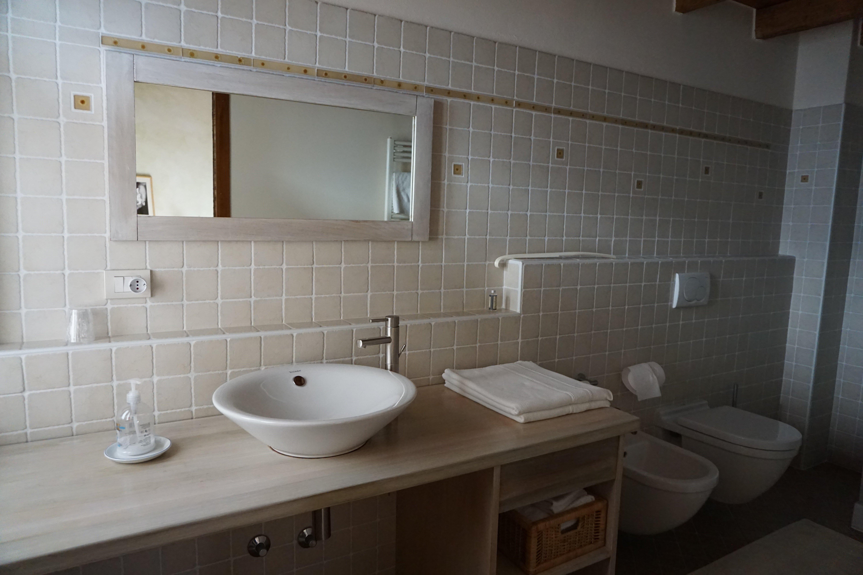 bathroom in a farmstead room
