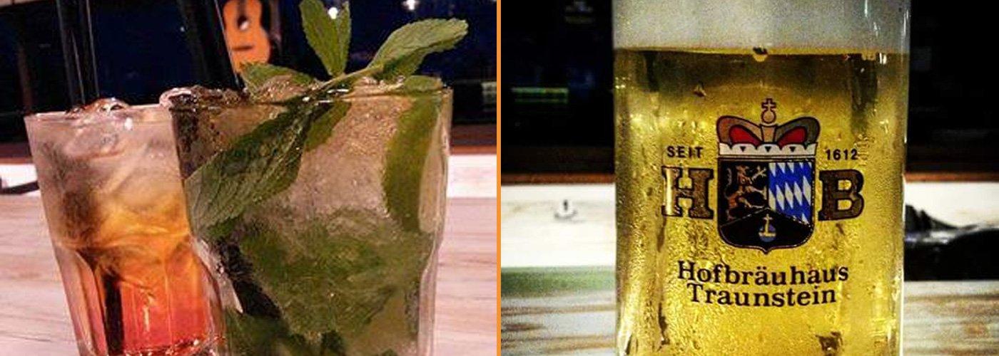 Cocktail e bicchiere di birra HB a Colonnella