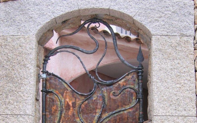 Porta da esterno ferro