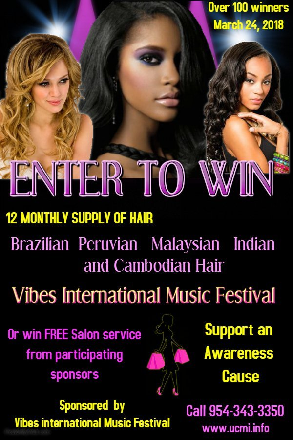 Hair show contest for ladies