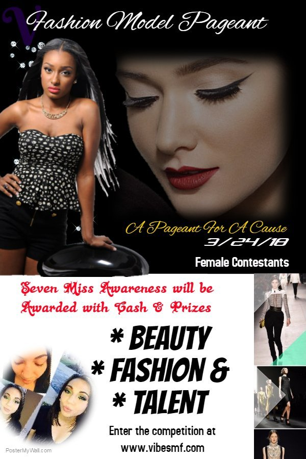 Beauty & Fashion Contest $5k in prizes