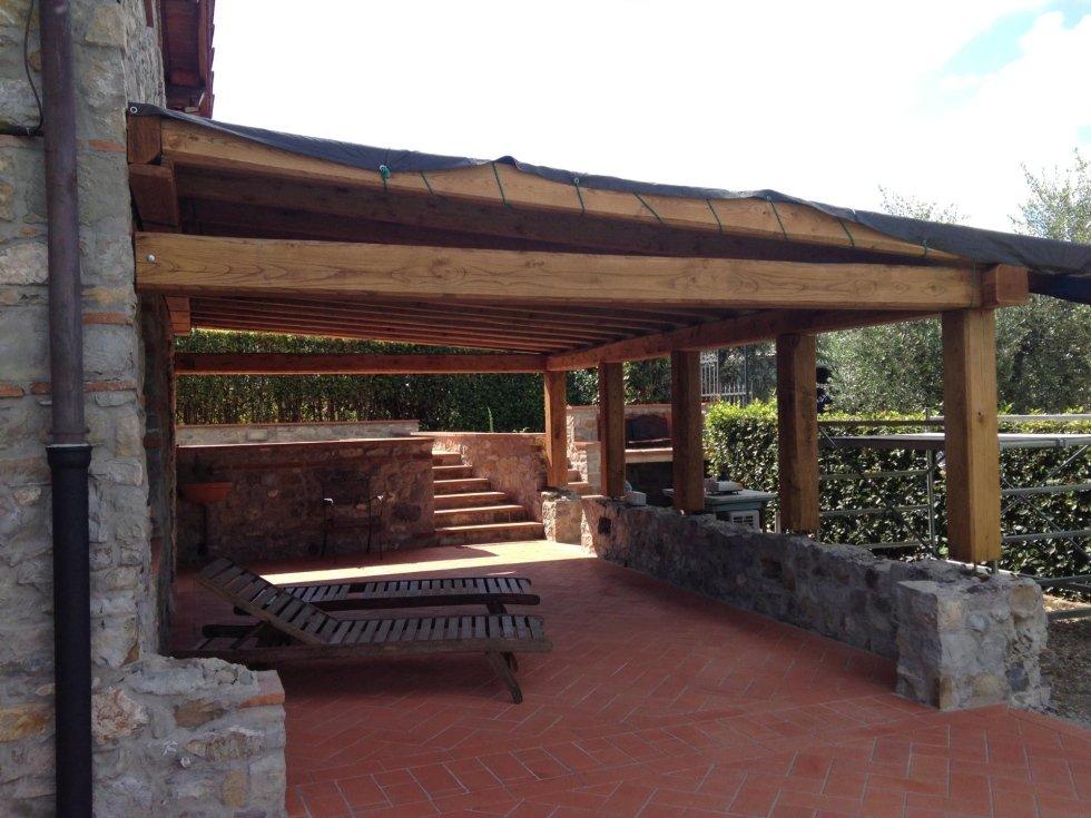 strutture e coperture in legno