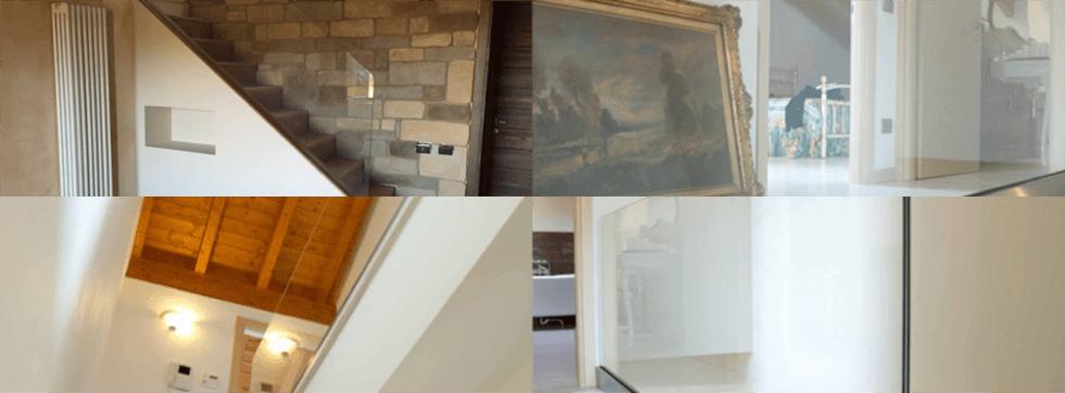 Vetri e vetrate per arredamenti