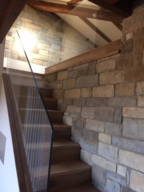 Parapetto per scale