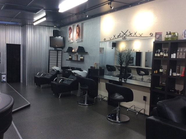 Tangles hair design interior