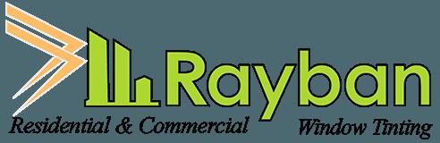 rayban window tinting logo