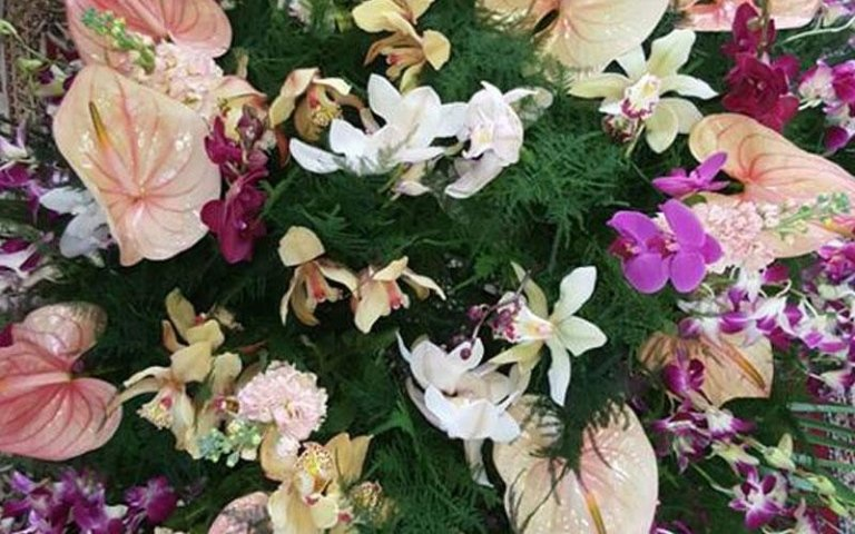 corone di fiori per funerale