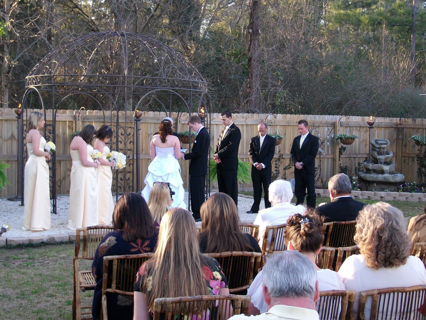 Browse The Photo Gallery To See Some Of Beautiful Ceremonies Held At Memory Lane