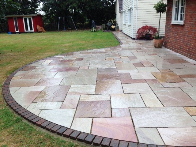 Heather ridge sandstone patio