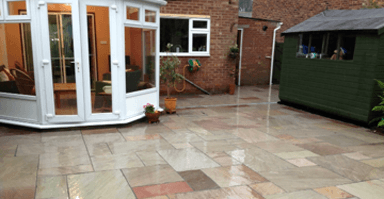 Bradstone Heather ridge Sandstone patio