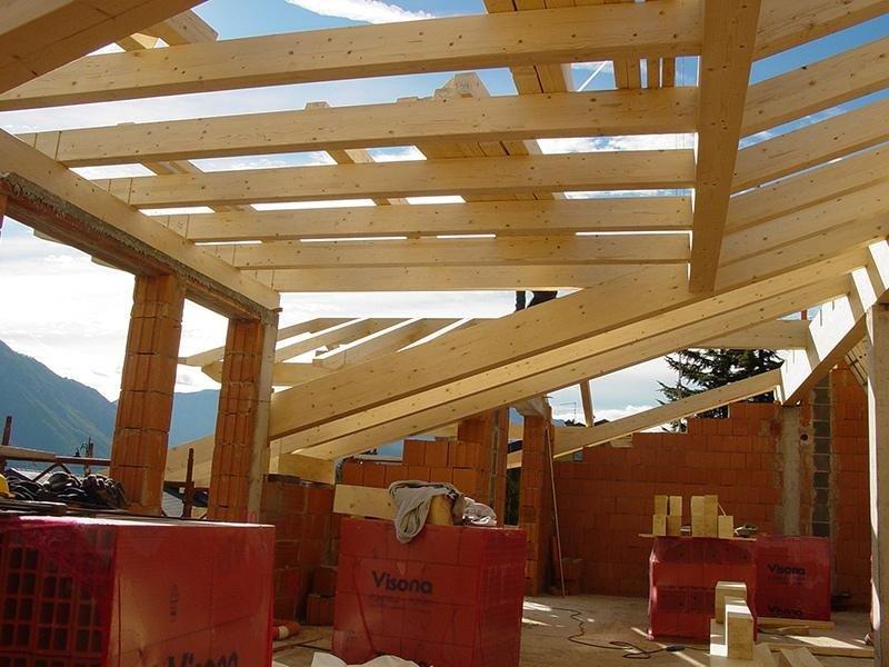 struttura in legno di abete