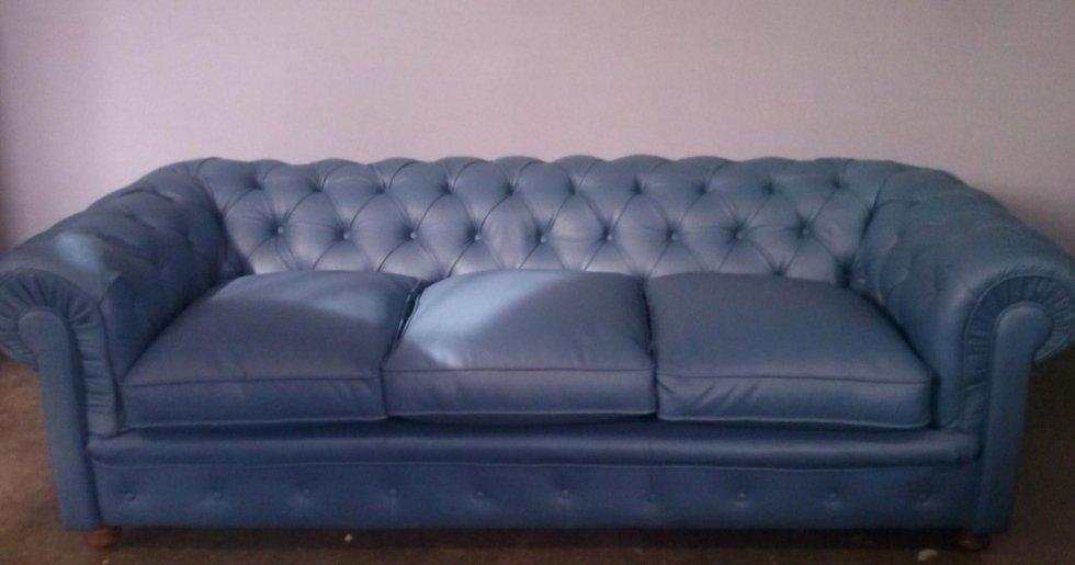 divano in pelle 3 posti