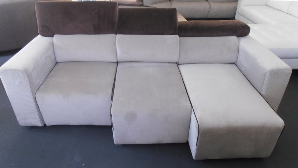 divano in microfibra 3 posti con sedute adattabili