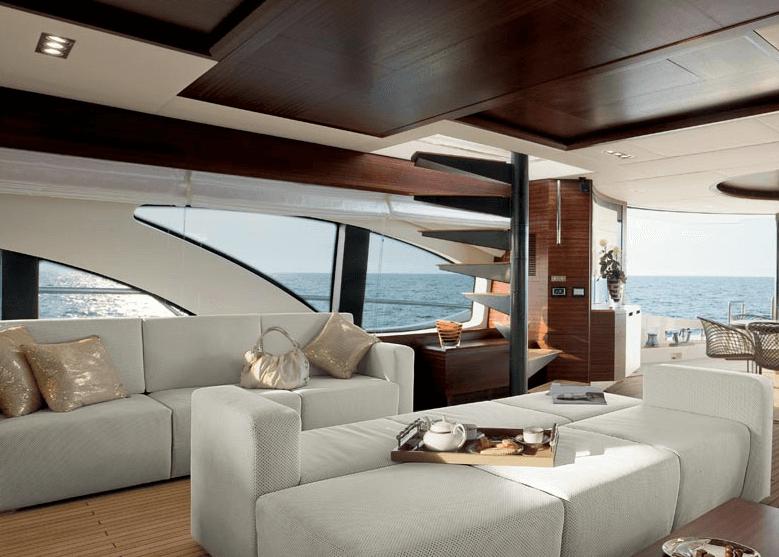 Salotto barca