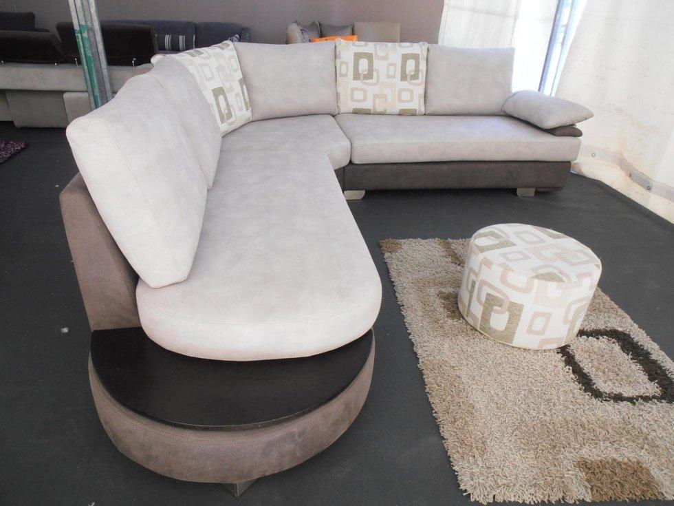 divano in microfibra ad angolo