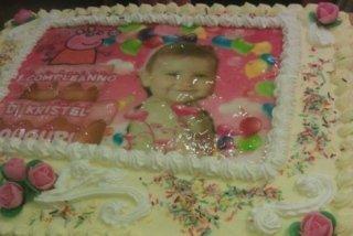 torte decorate con foto