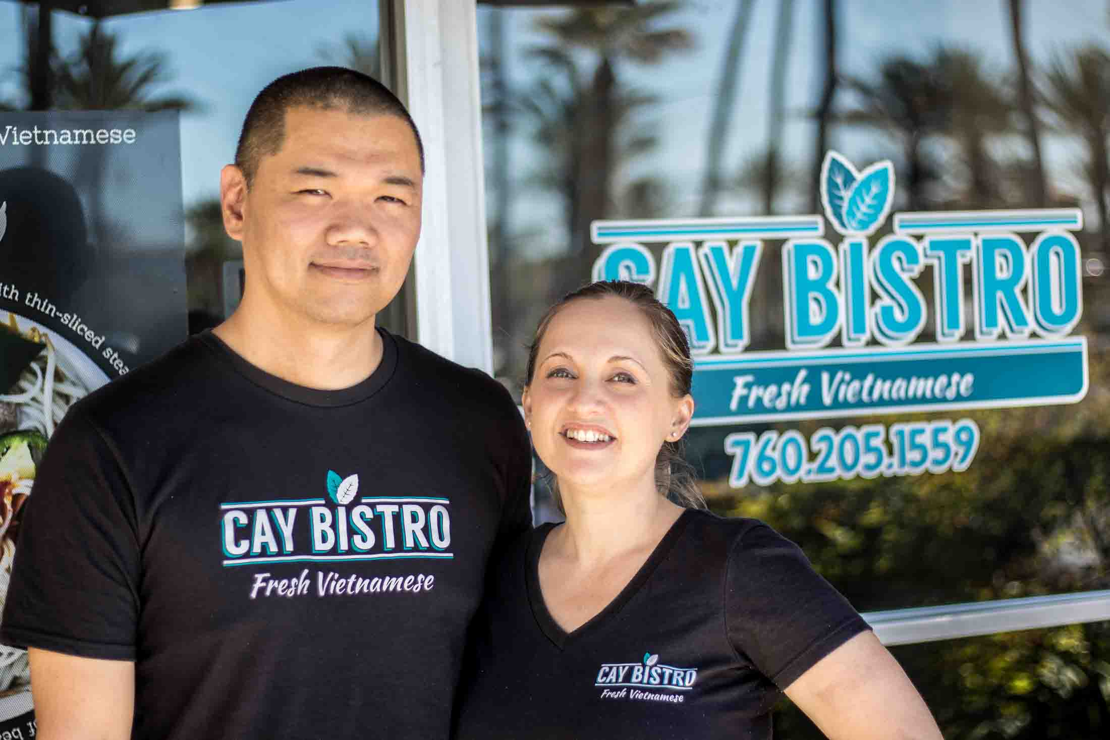 owners of cay bistro