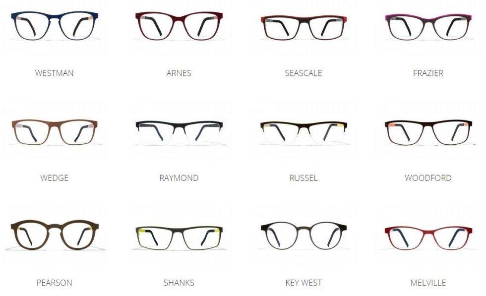 occhiali da vista blackfin