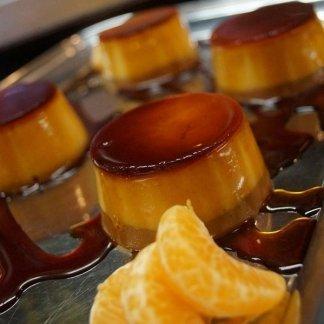 crem caramel e mandarino