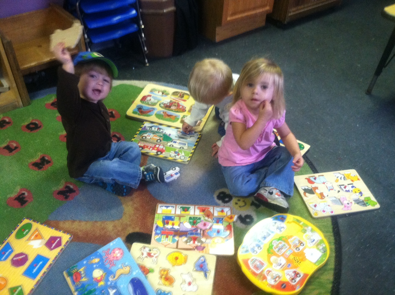 Children playing at Christian day care center in High Point, NC
