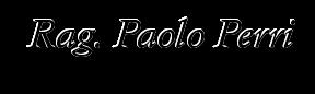 Studio Rag. Paolo Perri