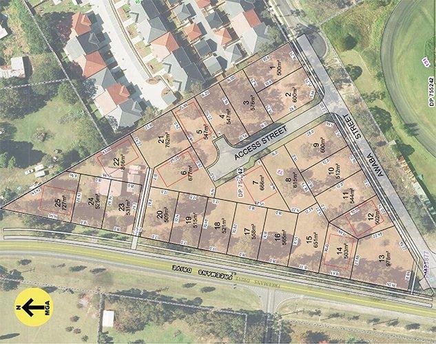 Area plot map