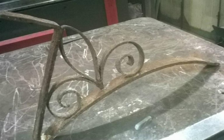 sotto balcone  ferro battuto prototipo