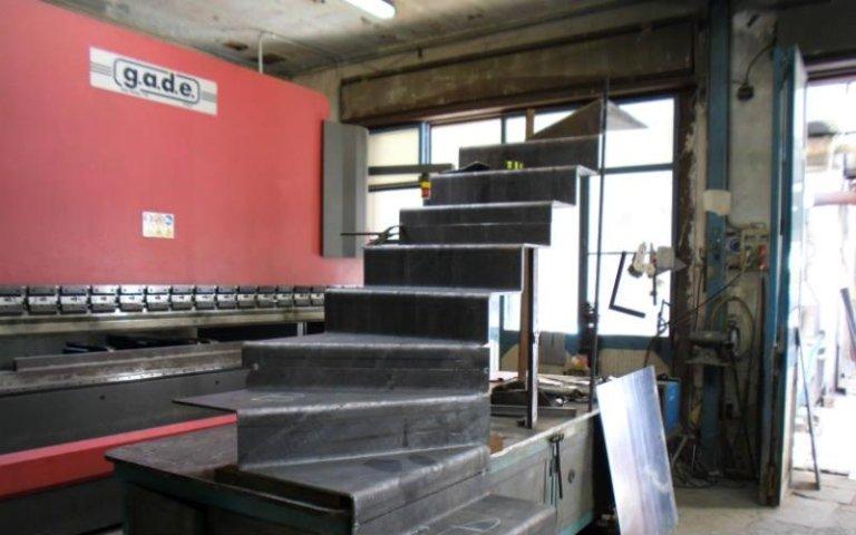 realizzazione scala 10 mm in ferro