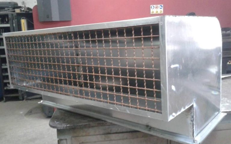 convogliatore aspiratori fumi per generatore