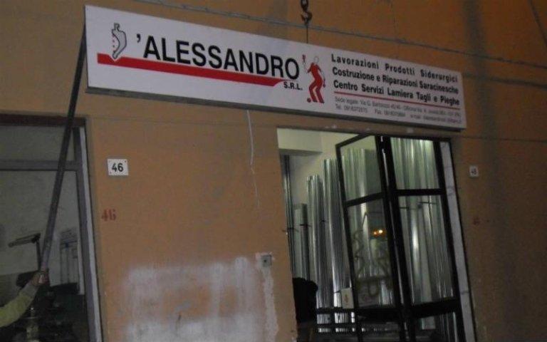 D'Alessandro carpenteria Palermo