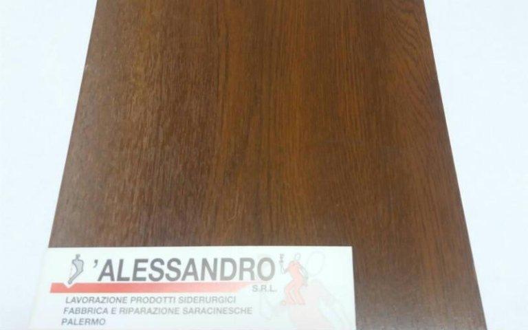 Lamiera effetto legno D'Alessandro