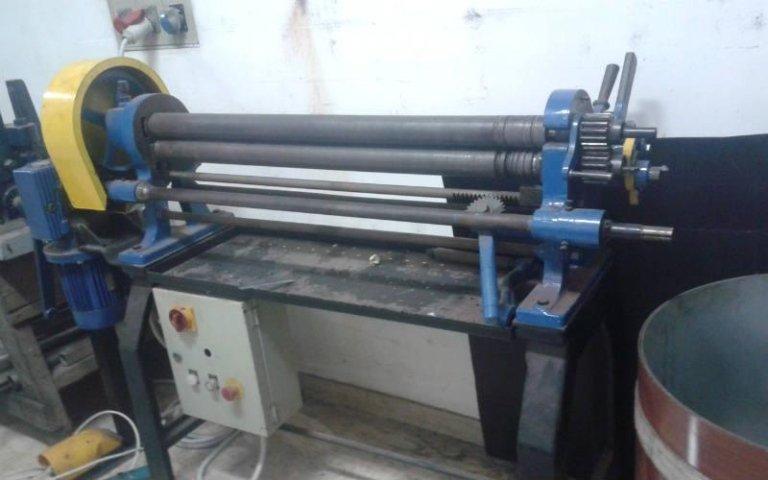 Calandra per lavorazione acciaio