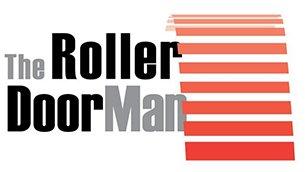 the roller door man nq pty ltd logo