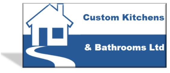 Custom Kitchens and Bathrooms Ltd logo