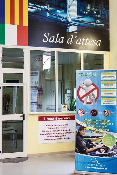 Carrozzeria Matteo Campagna- Interni - Salerno