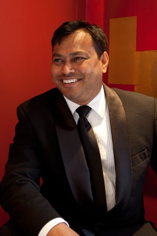 Rezaul Raja who owns The Raja of Kent group of restaurants