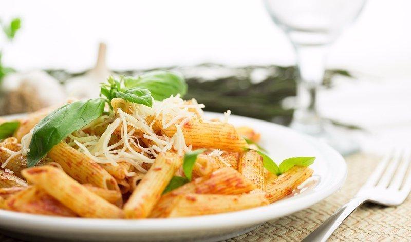 fresh pasta dish