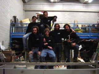 Lo staff di idraulici e lattonieri