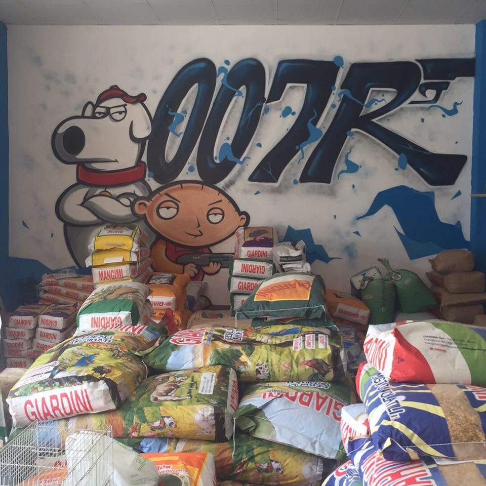 sacchi di cibo per animali