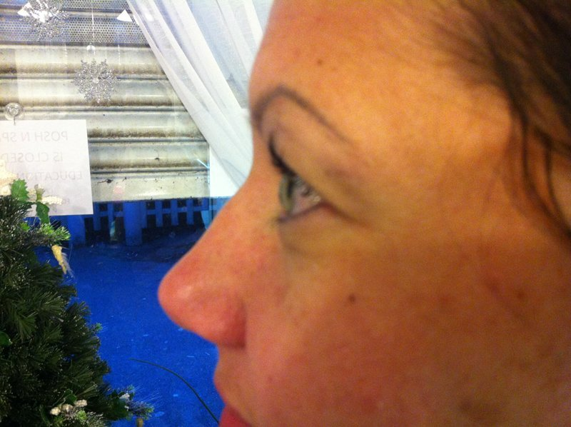 After Lashnv lift treatment