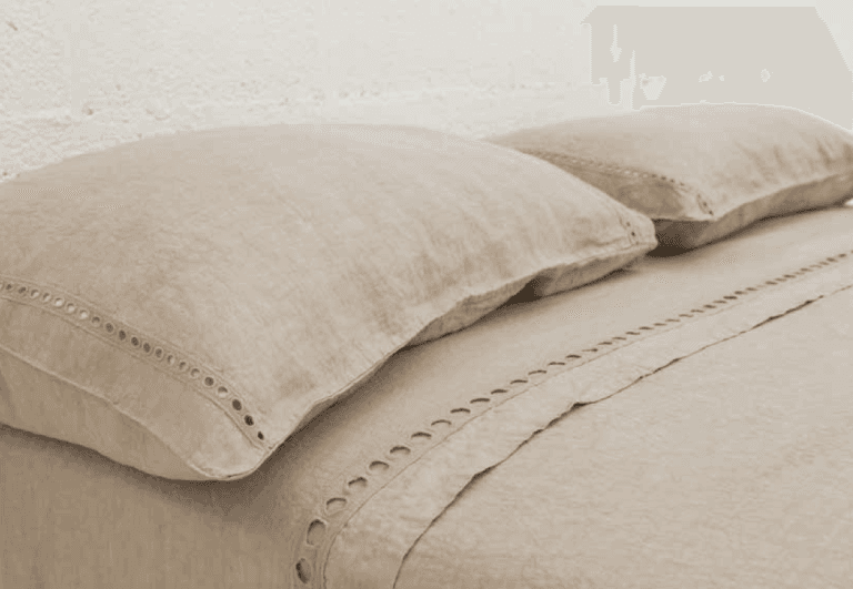 lenzuolo e federe 100% lino