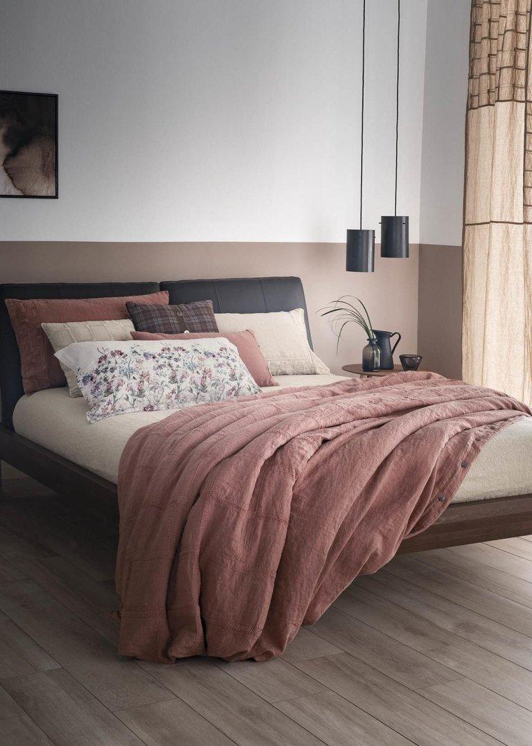 Biancheria per il letto bologna ugo home - La fabbrica del lino letto ...