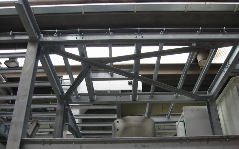 montaggio strutture metalliche